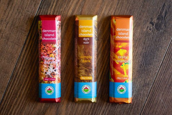 Denman Island Chocolate Bars (Variety 3 Pack)