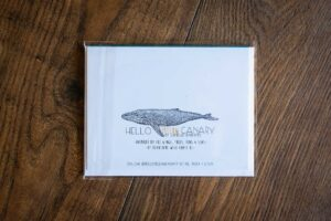 """I Love You Barnacles and All"" Greeting Card by Hello Yellow Canary"