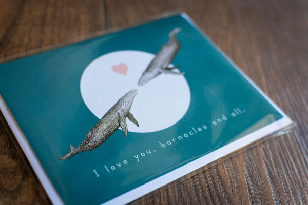 """""""I Love You Barnacles and All"""" Greeting Card by Hello Yellow Canary"""