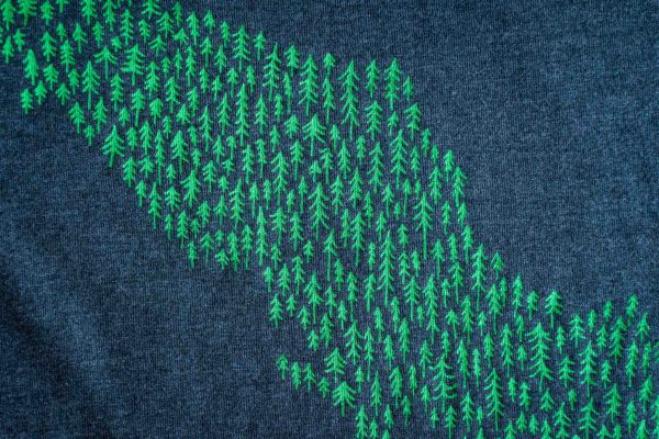 Tree Island Unisex Tee Shirt by Bough and Antler