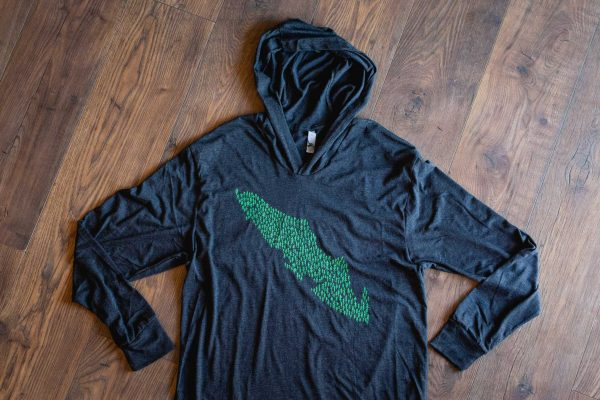 Tree Island Unisex Hoodie by Bough and Antler