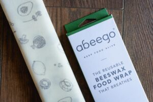 Breathable Beeswax Food Wraps by Abeego (3 Pack)