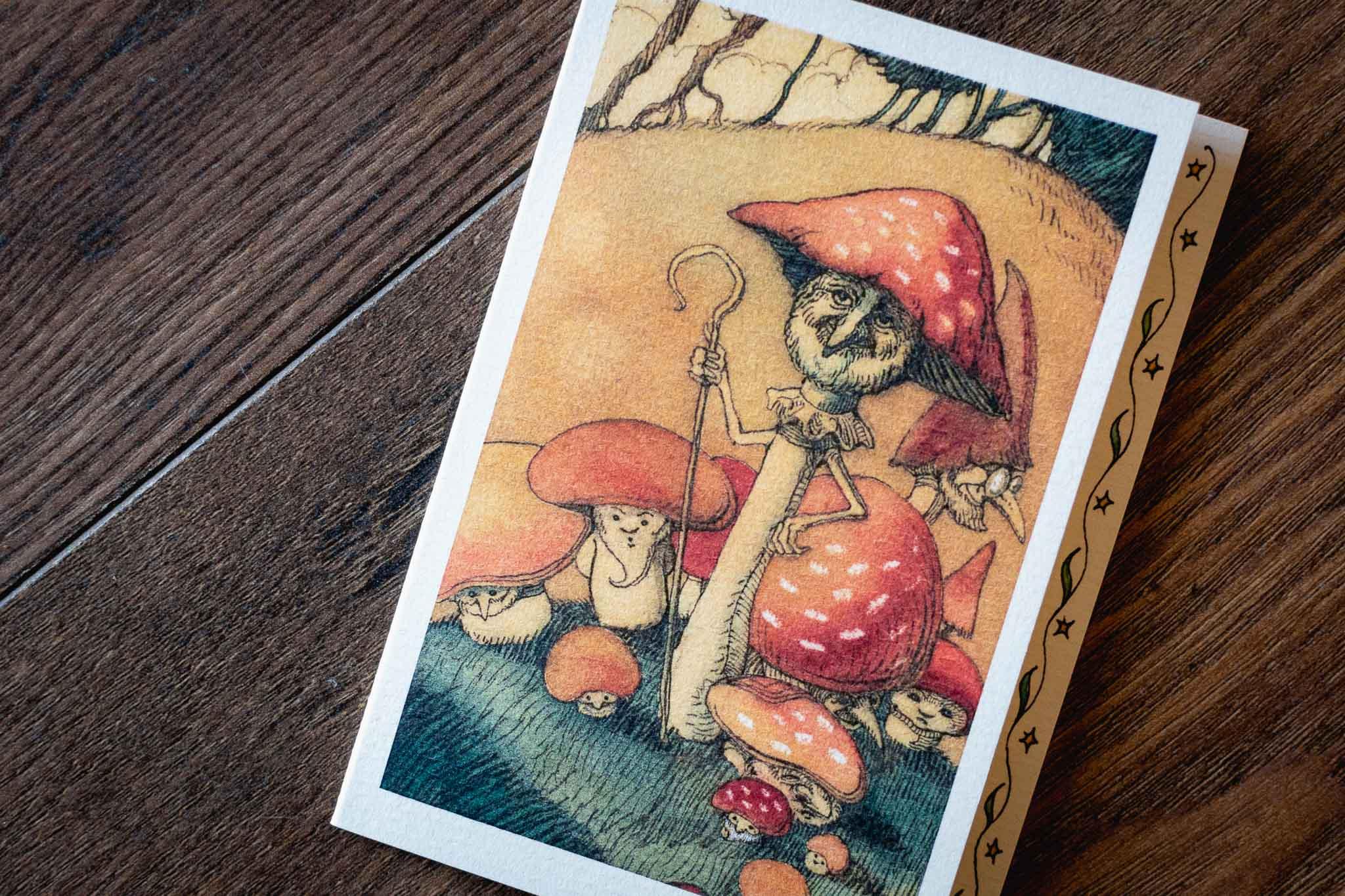 Small Greeting Card by Charles van Sandwyk (Set of 3)