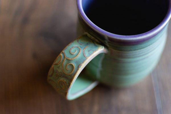 Ceramic Mug Handmade by Dish Pottery