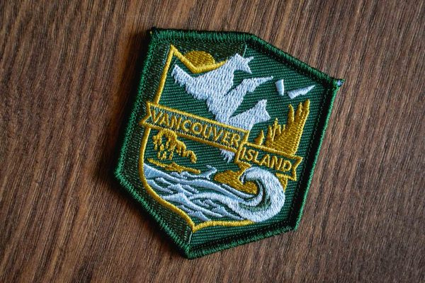 Vancouver Island Patches and Stickers by Bough and Antler
