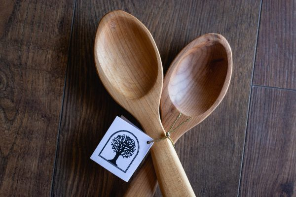 Serving Spoons Made With Locally Sourced Wood by Heartwood Studio