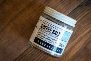Coffee Salt by Vancouver Island Sea Salt