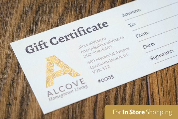 In Store Gift Certificate